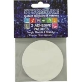 TUFF Patches x2 self adhesive 75mm diameter